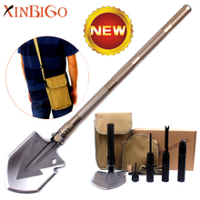 Hot Sales C008 Multifunction Outdoor Camping Military Folding Shovel