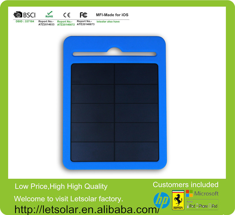 2014 China complete solar panel umbrella silicon solar sun charger mobile LETSOLAR only