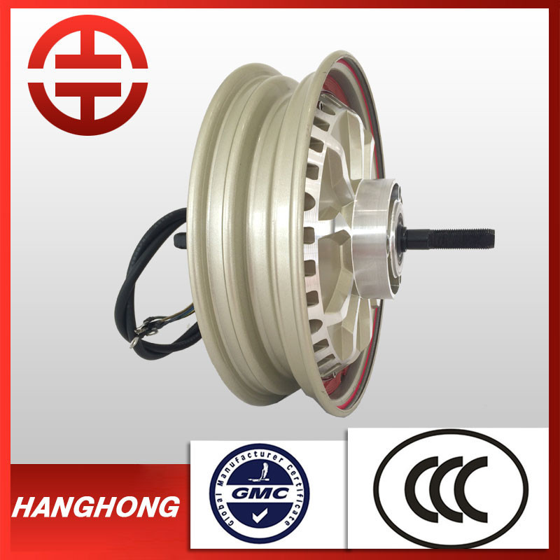 48v 1000w 1500w brushless electric scooter hub motor