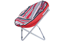 new portable cheap half moon chair outdoor moon chairs for adults