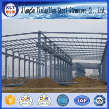 ISO9001 portal large span steel frame structure warehouse buildings