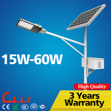 Waterproof IP65 12V 30W 40W 60W price list LED street light solar