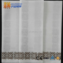 Customized printed disposable linen-feel guest towels Package of 100 cloth-like/cloth like guest towels