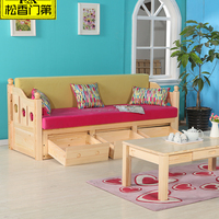 Wooden Living Room Furniture Cheap Sofa