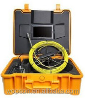 underwater pipe inspection equipment for plumber jobs with CCTV digital camera