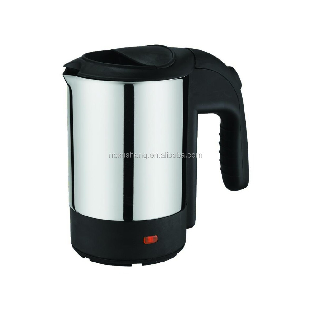 Electric Kettle Product ~ Ml mini stainless steel travel electric kettle with cup