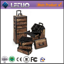 hairdressing chair covers aluminum makeup case with light