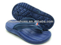 navy kids nude plastic flip flop sandal cheap hot selling fashion flat summer sandals 2014 for kid
