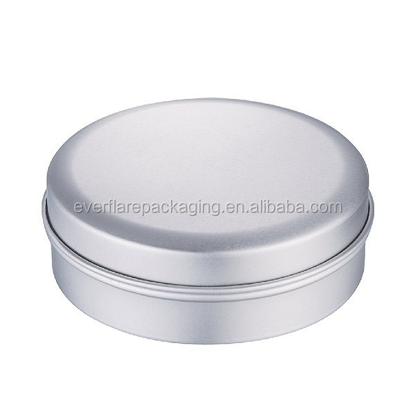 Cosmetics or cream or hair gel packaging aluminum jar