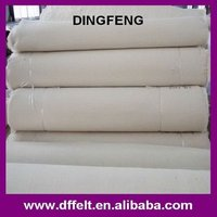 natural white wool felt