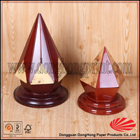 High Glossy Piano Lacquer Gift MDF Box Triangle