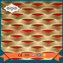 PVC coated wall decorative expanded metal laser cut metal panels