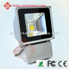 Hot sell led flood light stainless steel 100w led flood light ztl ip65 with CE ROHS
