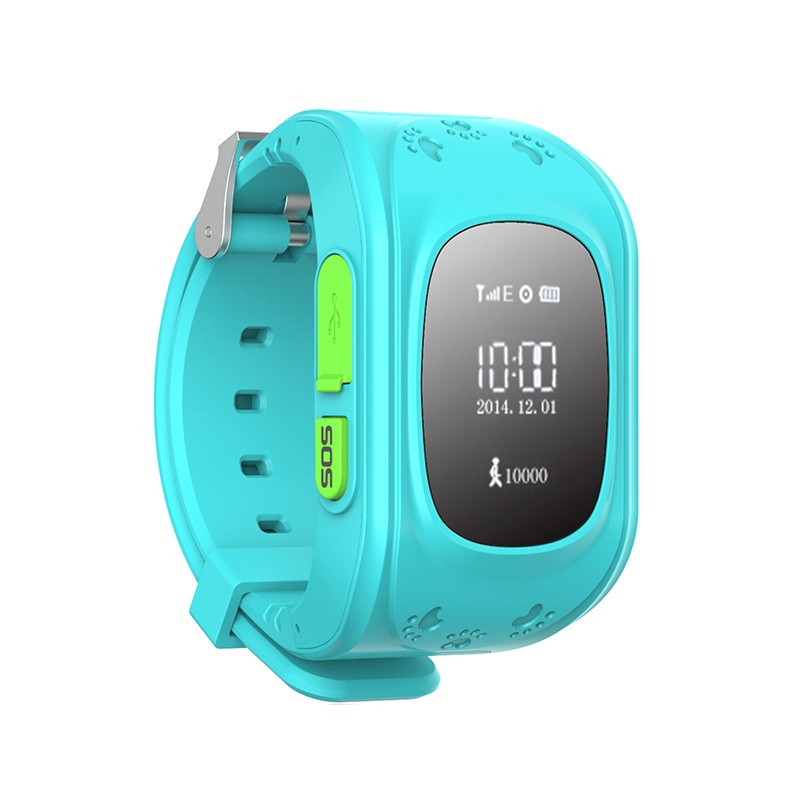 Q50 kids smart watch bluetooth OLED display GPS kids tracker watch Q50