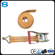 "2"" plastic handle cargo lashing belt"