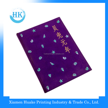 Purple Embroidered Spot Cloth Bound of case making