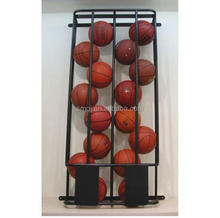 Wall Mounted Double Row Basketball Storage Locker