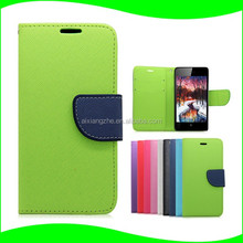 Cell Phone Accessories Wallet Style Stand Function with Card Slot Flip Cover PU Leather Case for Lenovo VIBE C A2020