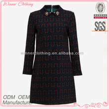 New arrivals autumn fashion formal dresses for middle aged women