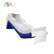 new design Inflatable yacht Water Boat Slide with custom logo