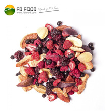Bulk Packaging Freeze Dried Fruits Wholesale Freeze-Drying Food Raspberries Blueberries Strawberries