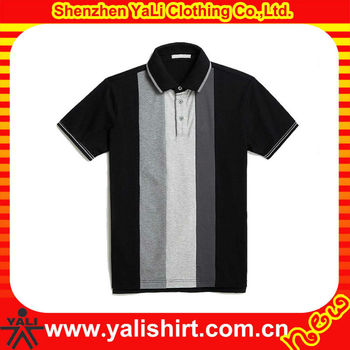 New design cheap comfort rib collar short sleeve color combination 100% soft cotton custom mens beach wear shirts