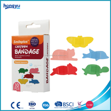Free samples cartoon wound adhesive plaster
