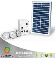 Sunshine SS 02-11-H3 Portable Home Solar Lighting System Kit, Solar Light Kit, Solar Power Lighting with phone charger