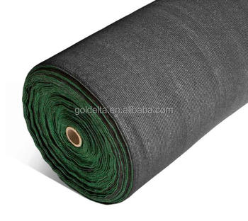 Xiamen 90% UV Premium blackShade Cloth mono tape Horticultural Shadecloth 2m 4m