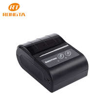 Portable Mini Wireless 58mm Bluetooth High Speed Direct Thermal Printer, Compatible with Android & IOS & Windows & Linux systems