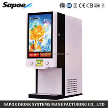 Sapoe SJ-71402S 2 taste automatic cooling and heating orange juice machine for restaurant and hotel