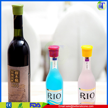 Silicone rubber drinking Lids, Bottle Caps,wine cork bottle stopper