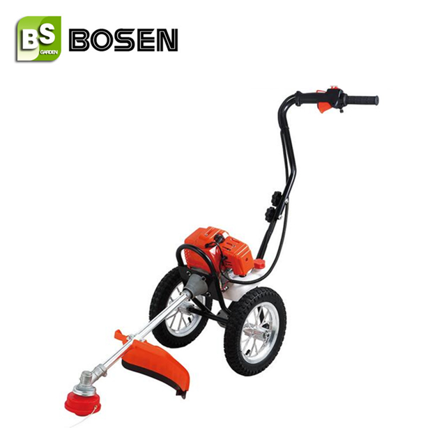 43cc Gasoline Hand Push Grass Cutter with Wheels (BC430P)