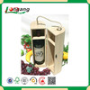 unfinished wood wine box with slide lid cheap wine box /box with a bottle of wine