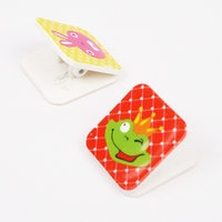 INTERWELL LP402 Cute Stationery Clip, Plastic Mini Paper Clip