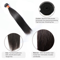 Guangzhou Factory Can Be Dyed High Quality Wholesale Top Grade Malaysian 100 Human Unprocessed Straight Human Hair Extension