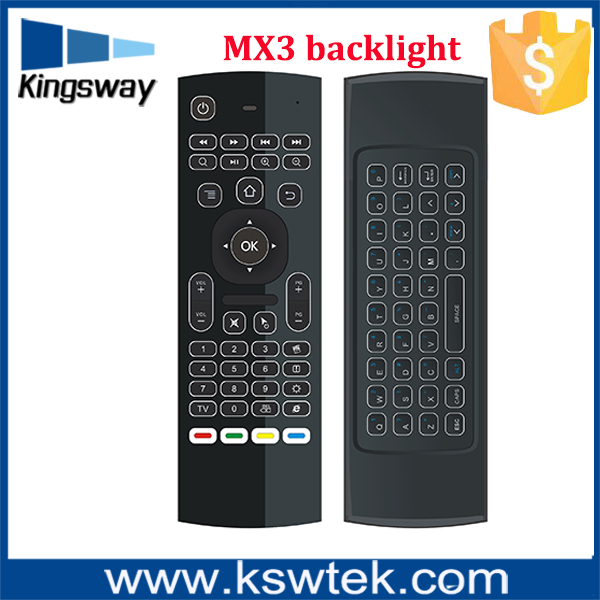 cheapest 2.4g mini wireless mx3 backlight keyboard