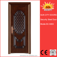 high quality commercial steel bar gate door