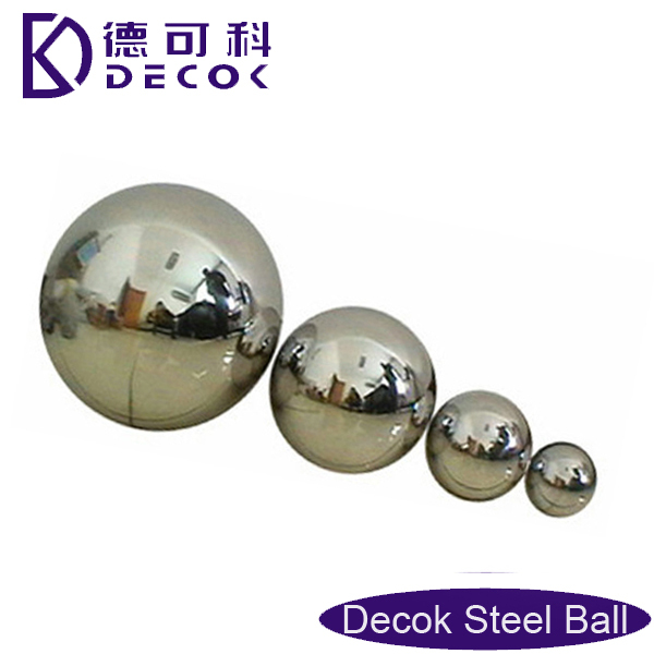 China manufacturer hanging Gazing Globe/ 500mm Stainless Steel 201 large metal garden decorative ball