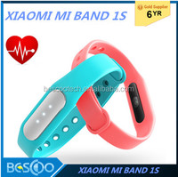 Original Xiaomi Mi Band 1S 1A Pulse Smart Sleep Heart Rate Monitor Bracelet Fitness Tracker for Android/iOS Phone