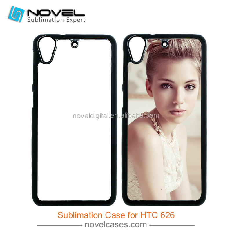 For HTC 826 Plastic Sublimation 2D Mobile Phone Case