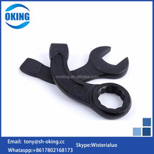Black color steel Box End bent spanner