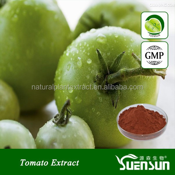 Top quality pure lycopene powder tomato extract green tomato extract