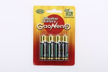 Super Quality 1.5V AA LR06 Alkaline Battery from China Factory for LED Flashlights