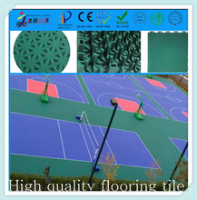 TKL3048-16 PP interlocking elastic noise reduction flooring for basketball sport court