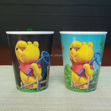 13oz custom logo printed pp plastic cup with cheap price