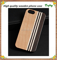 wood bumper case for iphone5/5s wood phone case