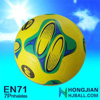 2015 cheap smooth soccer balls NO.5 giant inflatable soccer ball for sale