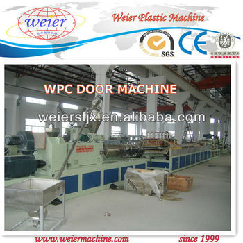 CE certificate WPC door machine,plastic machinery