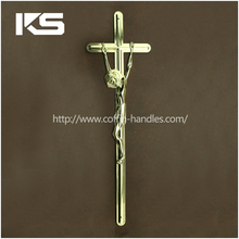 Ornament Brass Coffin Metal Crucifix Cross